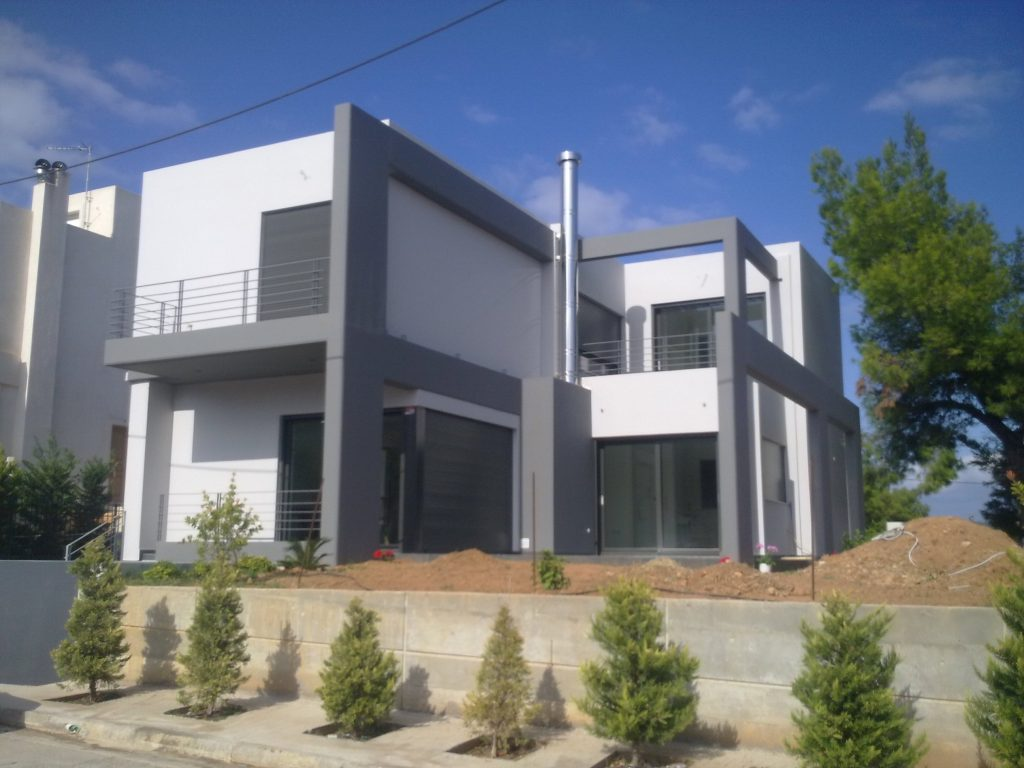 Μελέτη Επίβλεψη Μονοκατοικίας στην Αρτέμιδα